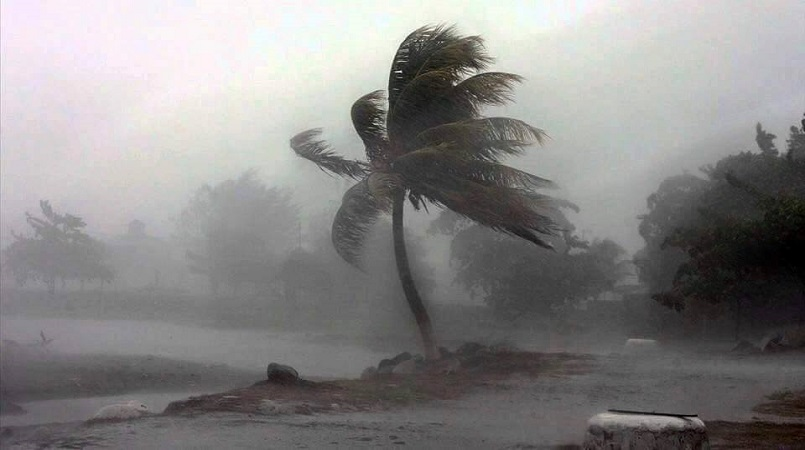 Fiji affected by cyclone