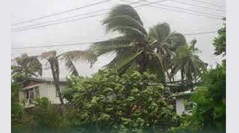 cyclone hits Fiji