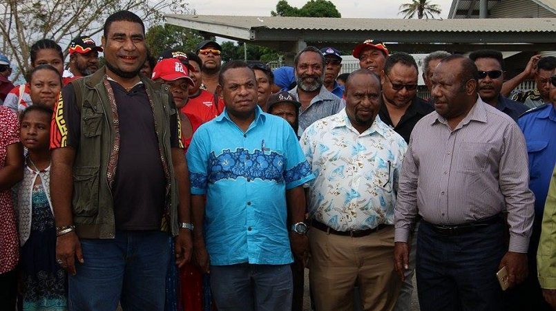 Isoaimo and National Alliance Party MPs