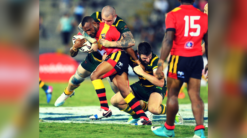 Kangaroos beat Fiji and PNG in World Cup warm up match