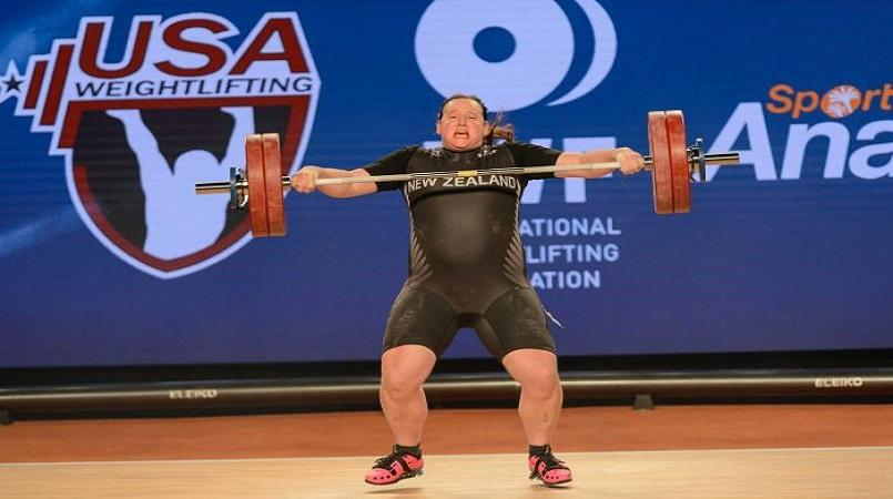 Transgender weightlifter Hubbard says injury career-ending