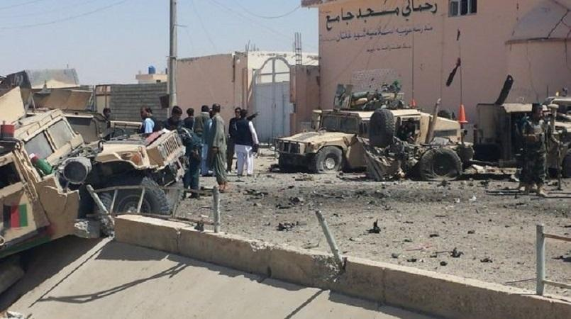 Afghan security forces kill 21 militants in Helmand province