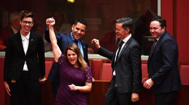 Marriage Equality Bill Passes Australia Senate, Moves To Lower House
