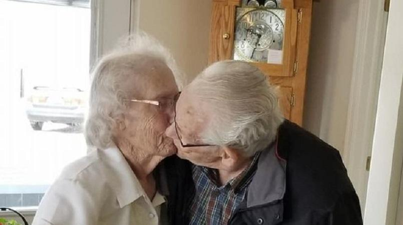 Couple Married 69 Years Forced Apart Days Before Christmas