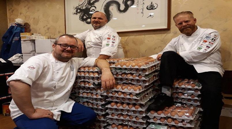 Norwegian chefs accidentally order 15000 eggs for Olympic team