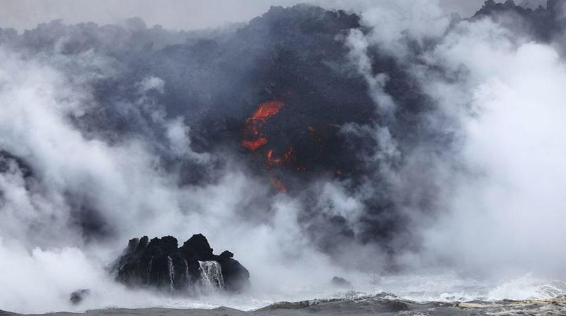 Explosive eruption reported from Hawaii's Kilauea
