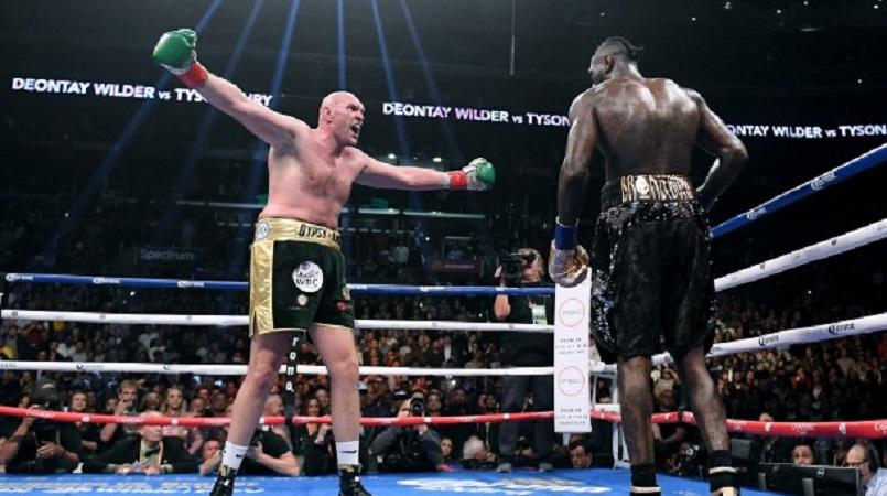 Fury wants Wilder rematch at Old Trafford