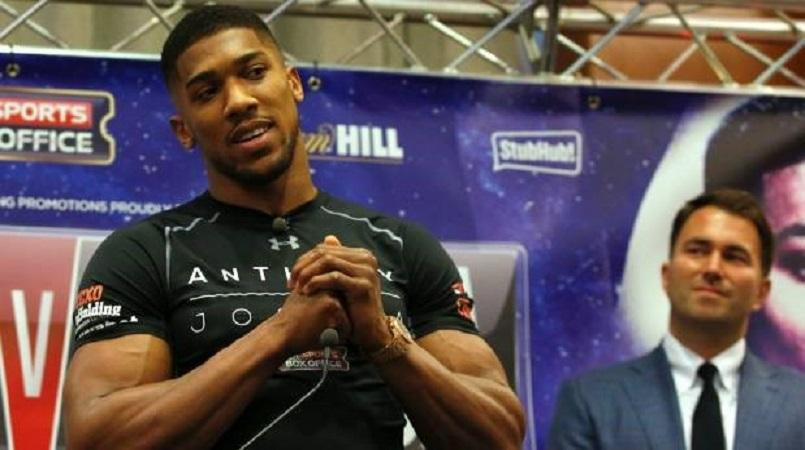 Joshua: Fury a 'nutjob', but I'd knock Wilder out with one punch