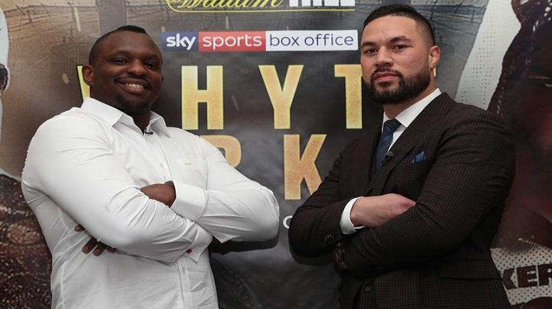 Whyte coming for Parker