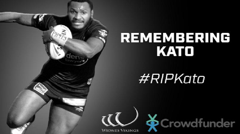 Widnes Vikings mourn the death of Kato Ottio, 23