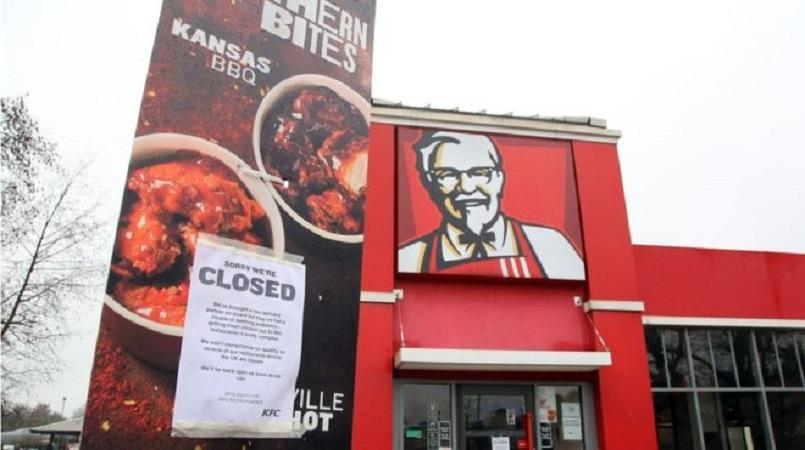 KFC's apology for running out of chicken is pretty cheeky