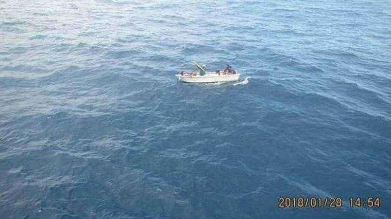 Kiribati suspends aerial search for sunken ferry passengers