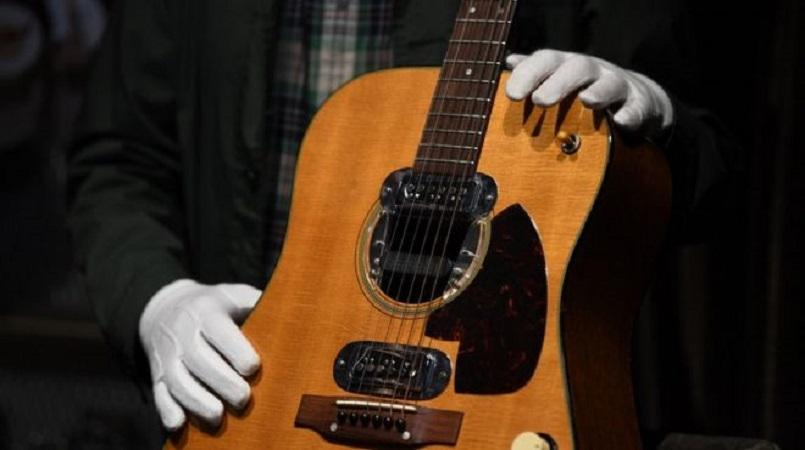 Kurt Cobain's 'MTV Unplugged' Guitar Auctioned for Record $6 Million