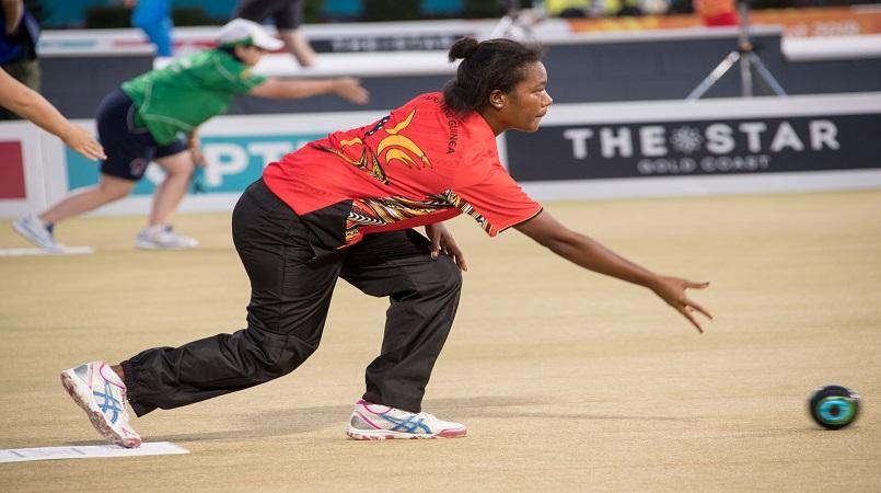 Commonwealth Games: 'Ronaldo' spotted on bowling green