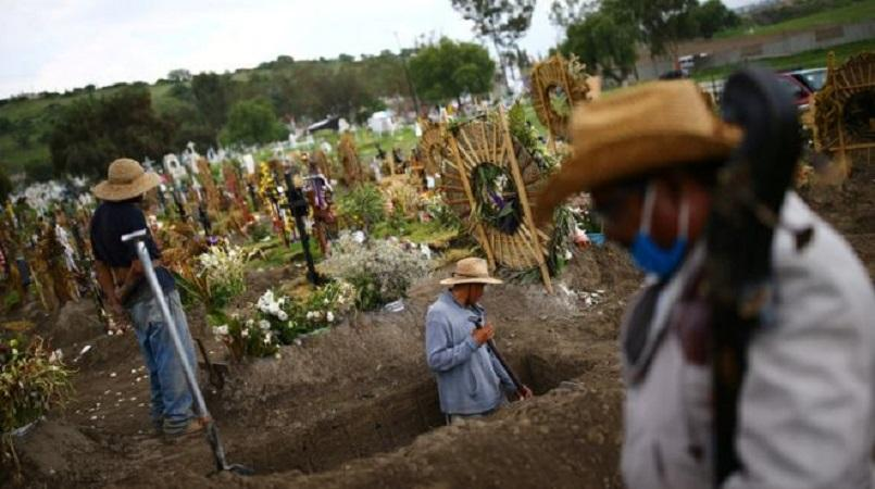 Mexico overtakes United Kingdom  to have world's third-most Covid-19 deaths
