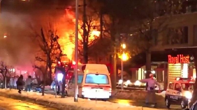 Explosion at Japan restaurant injures 42
