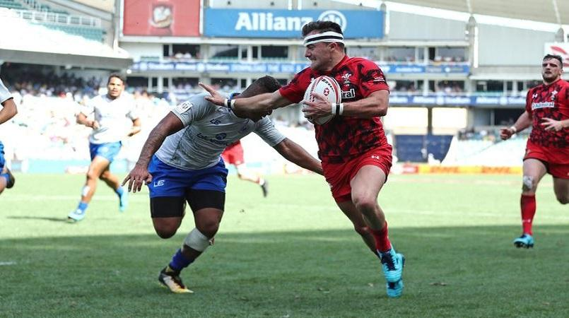 Kok lone Blitzbok in Hamilton Sevens Dream Team