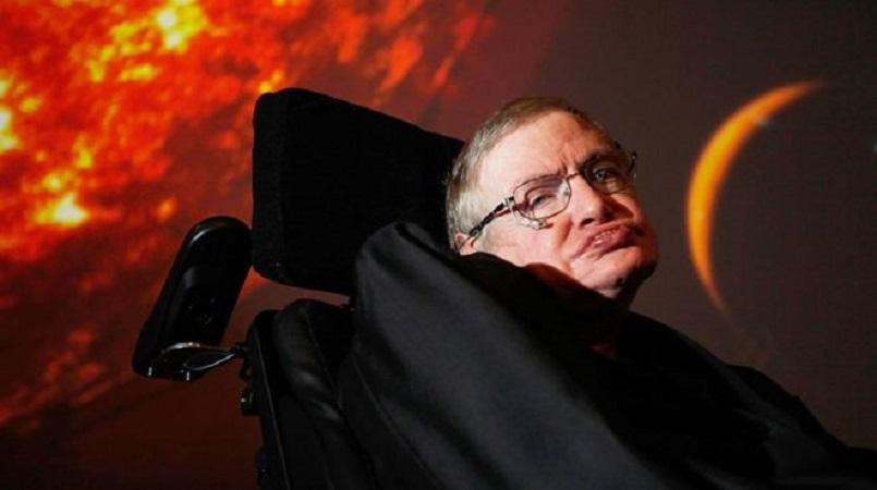 Thousands pay their respects at Stephen Hawking's funeral