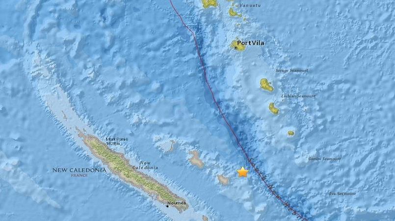 7.3-magnitude quake hits New Caledonia: USGS