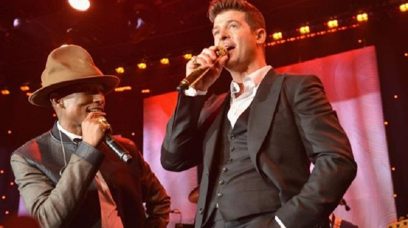 Robin Thicke and Pharrell Williams ordered to pay Gaye family $5m
