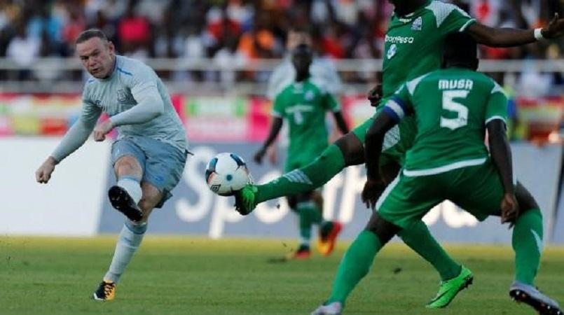 Rooney and Everton in Dar for Gor Mahia friendly