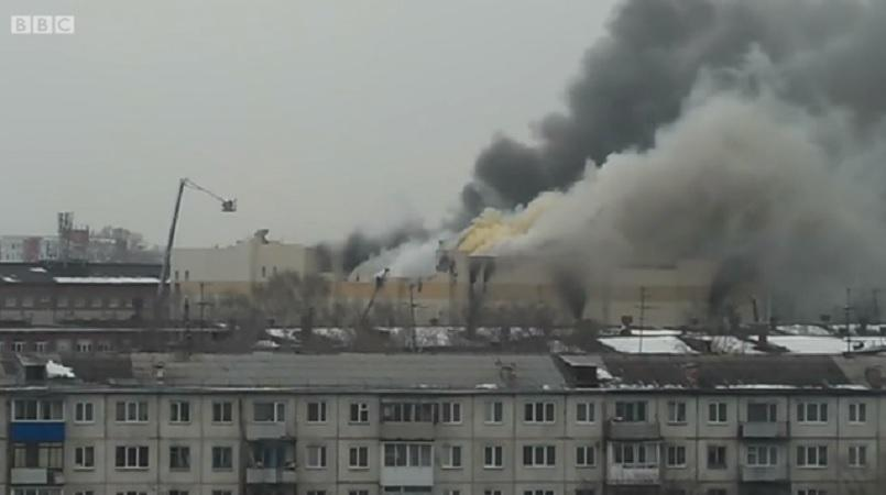 May sends Putin letter of condolence over deadly mall fire