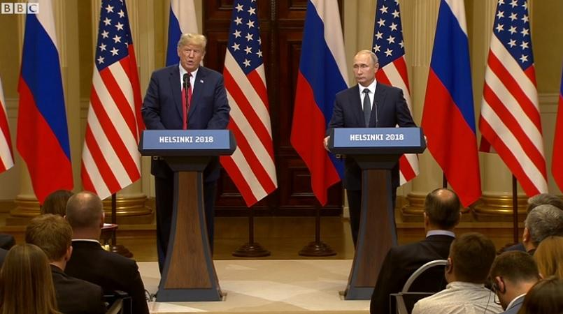 Putin summit opens without talk of election meddling