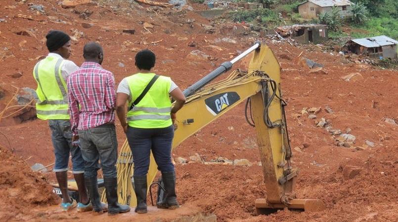 What is happening in Sierra Leone?