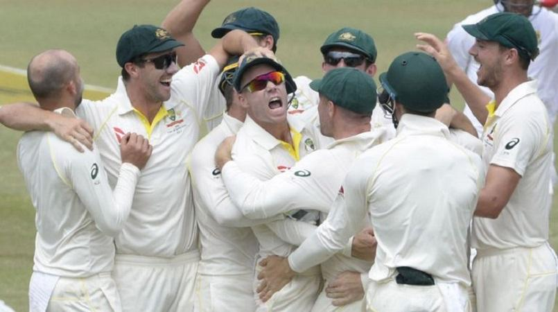 Nathan Lyon charged over AB de Villiers run-out celebration