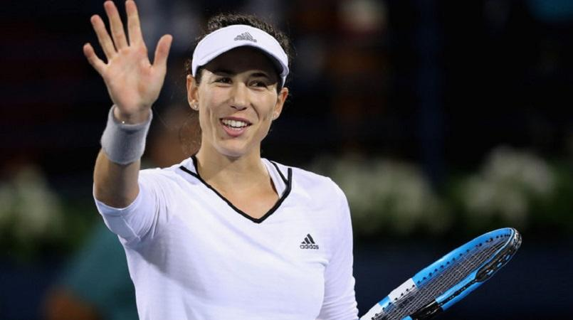 Muguruza defeats Garcia, advances to Dubai semis