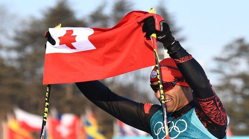 Shirtless Tongan Flagbearer Pita Taufatofua Considers 114th Place an Olympic Victory