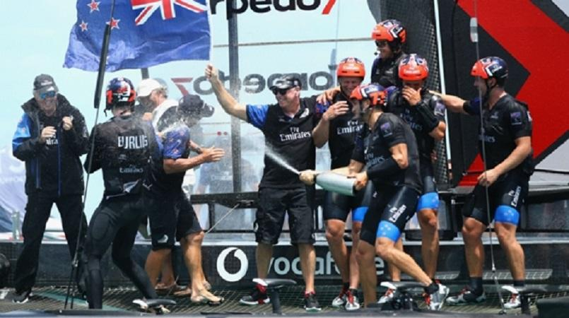 America's Cup: Team New Zealand's happy hangover