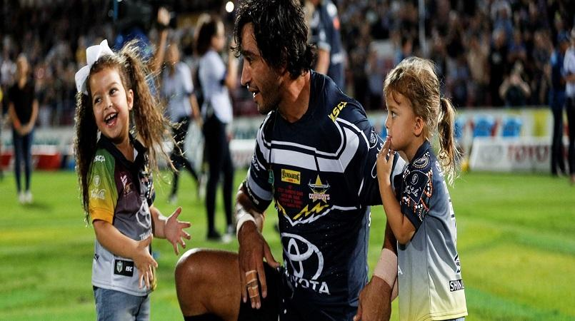 Thurston revels in limelight to inspire Cowboys in milestone match