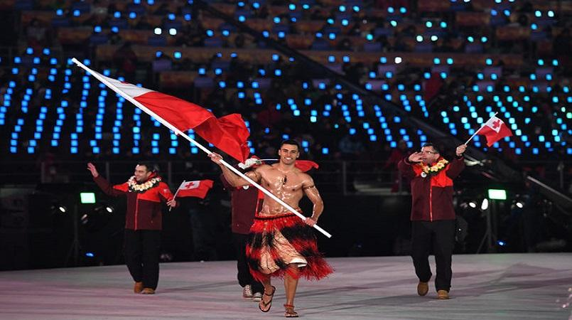 Winter Olympics 2018: Tonga shirtless flag-bearer Pita Taufatofua, frame-by-frame