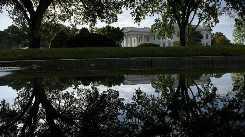 White House on lock down