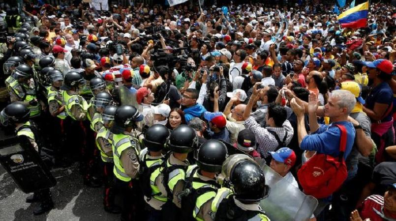 Image result for thousands of violent protesters