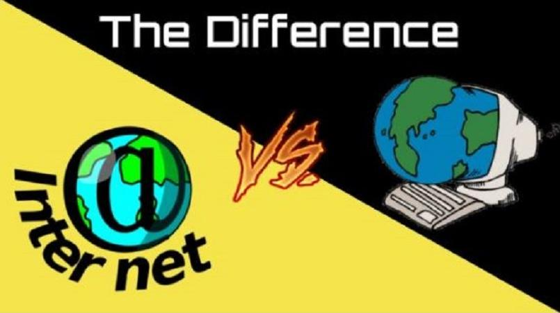 difference internet and world wide web