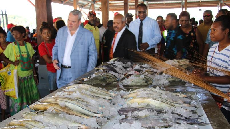 New koki fish market open for business loop png for Pacific fish market