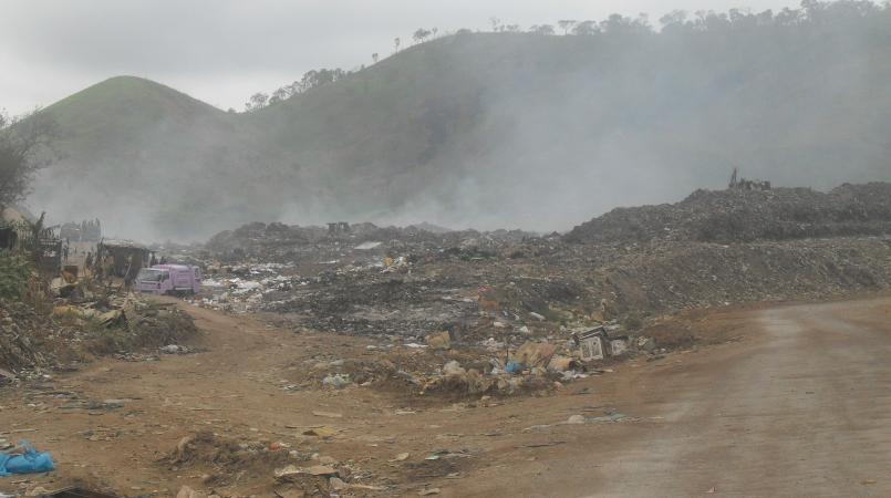 rubbish to help power moresby