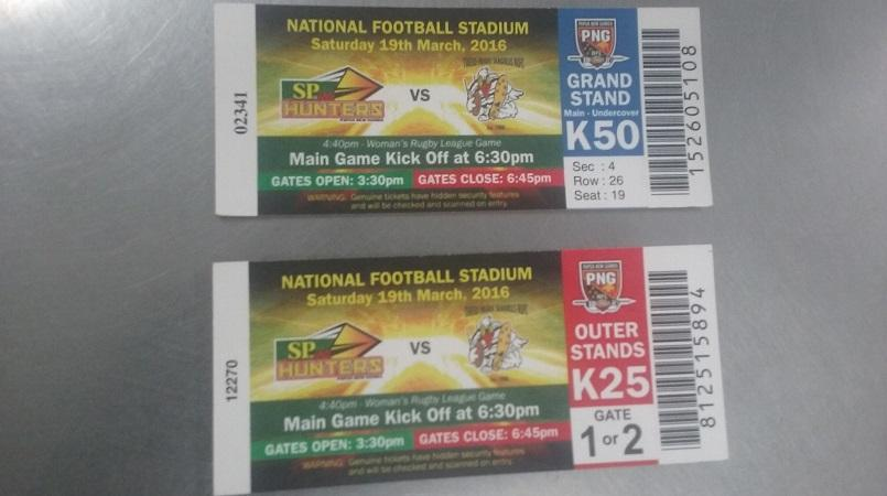 Hunters' first home game tickets selling fast | Loop PNG