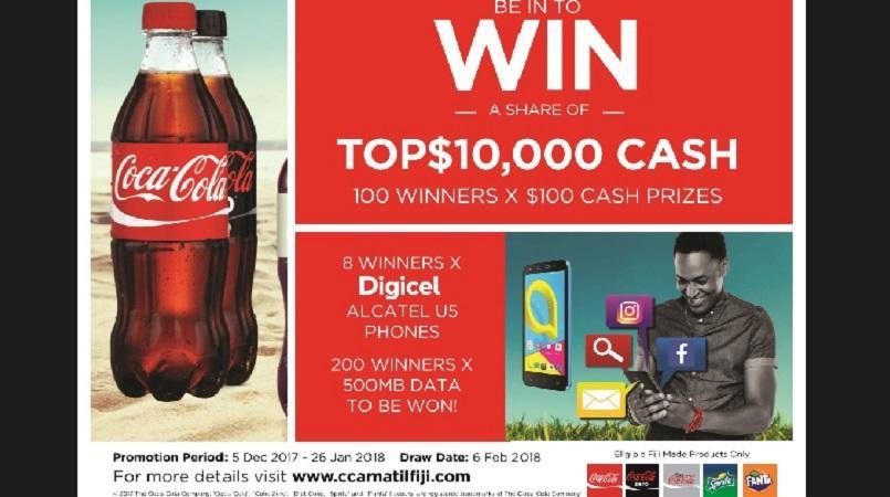 Coca cola prize list