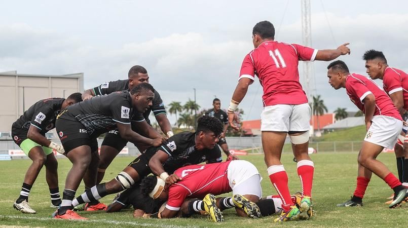 Fiji keep Tonga at bay In Round One of Oceania Rugby U20s Trophy