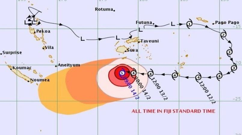 Storm surges and damage likely as Gita reaches New Caledonia