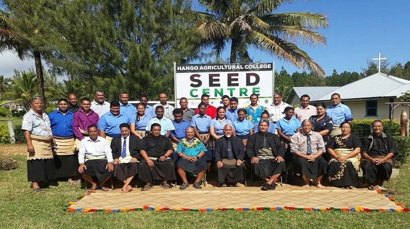 Tonga's Hango Agricultural College launches seed centre