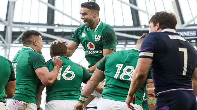 Ireland rise to number two in rugby rankings