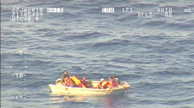 Kiribati suspends aerial search for sunken ferry passengers