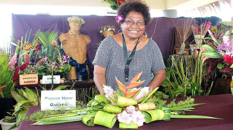 PNG Cut Flower Specialist Creates Headlines In Guam At