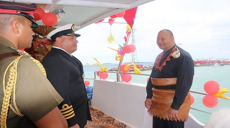 Tonga takes delivery of inter-island ferry