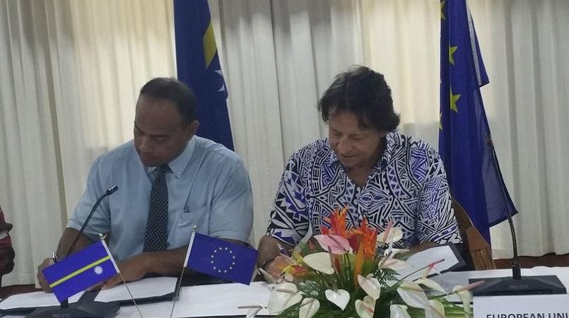 Nauru and European Union sign financing agreement Loop Nauru