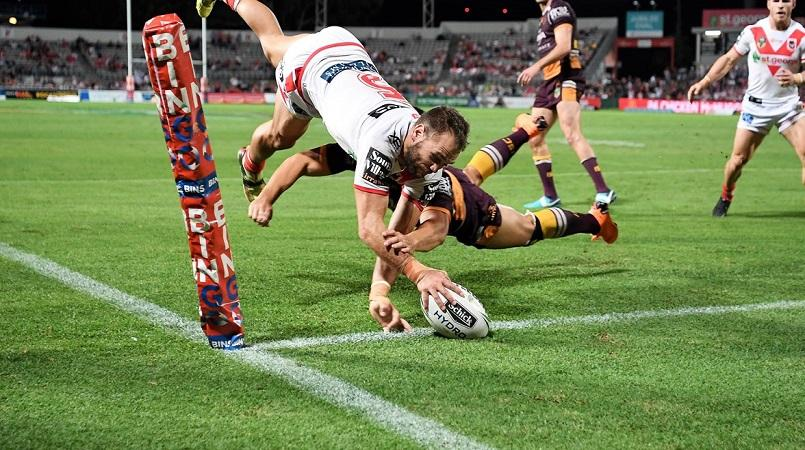 Hunt leads Dragons to win over Broncos